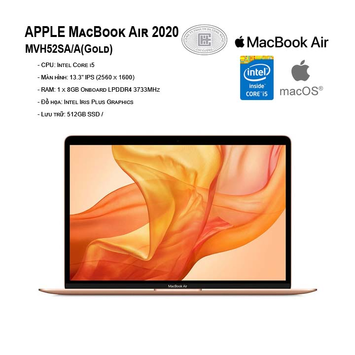 APPLE MacBook Air 2020 MVH52SA/A (13.3