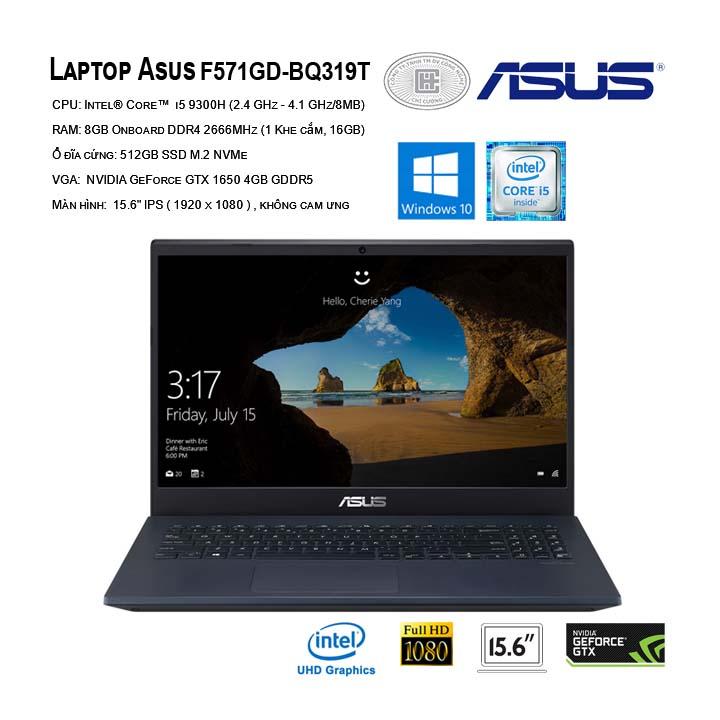 Laptop ASUS F571GD-BQ319T