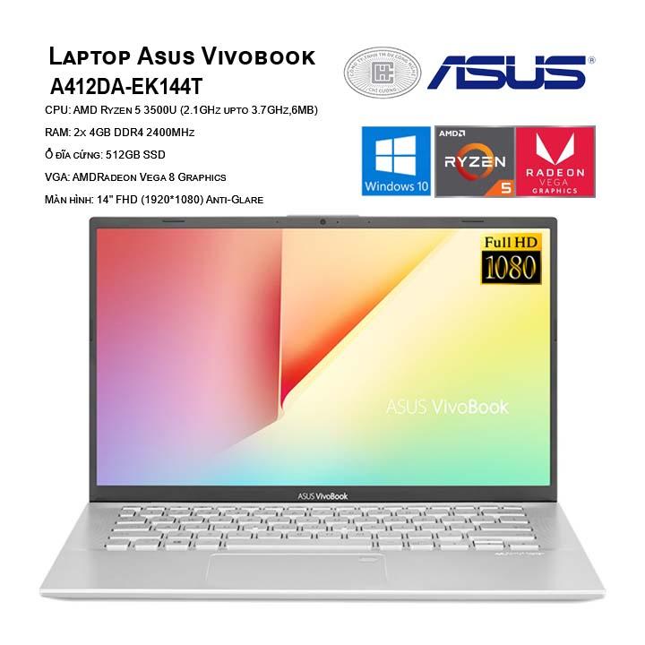 Laptop Asus Vivobook A412DA-EK144T