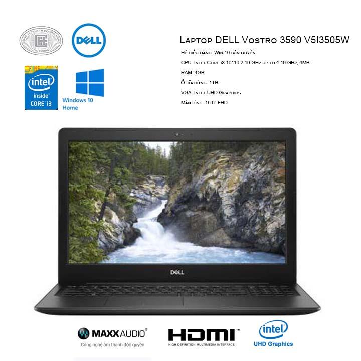 Laptop Dell Vostro 3590-V5I3505W (15