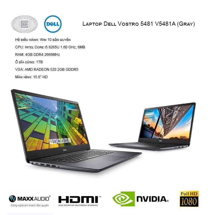 Laptop Dell Vostro 5481 V5481A (Gray)