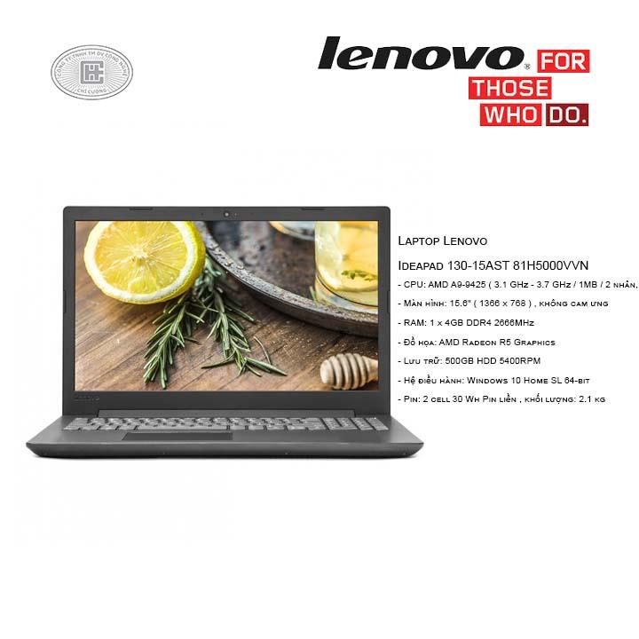 Laptop Lenovo Ideapad 130-15AST 81H5000VVN(15.6