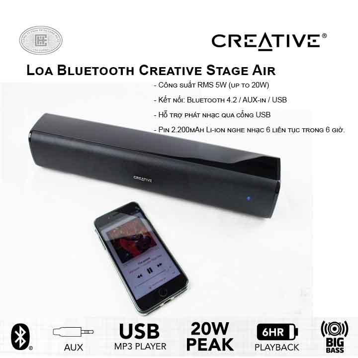 Loa bluetooth Creative Stage Air