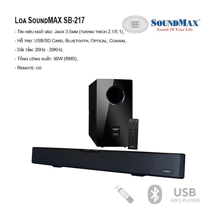 Loa SoundMax SB-217/2.1
