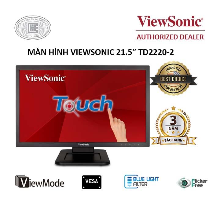 Màn hình cảm ứng Viewsonic 21.5 inches TD2220-2