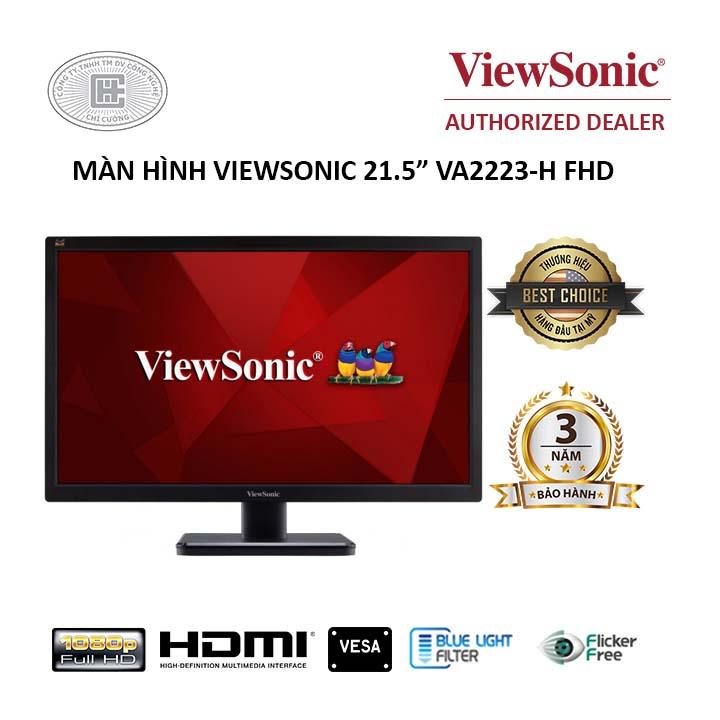 """MÀN HÌNH VIEWSONIC 21.5"""" VA2223-H FHD"""