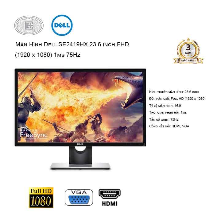 Màn hình máy tính Dell SE2417HGX 23.6 inch FHD Gaming