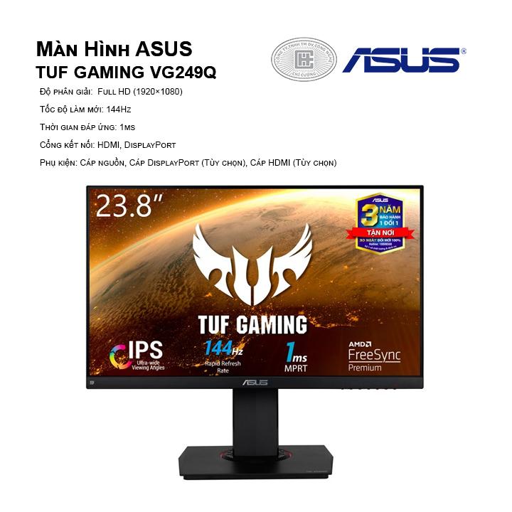 Màn hình Asus TUF GAMING VG249Q FHD 144Hz
