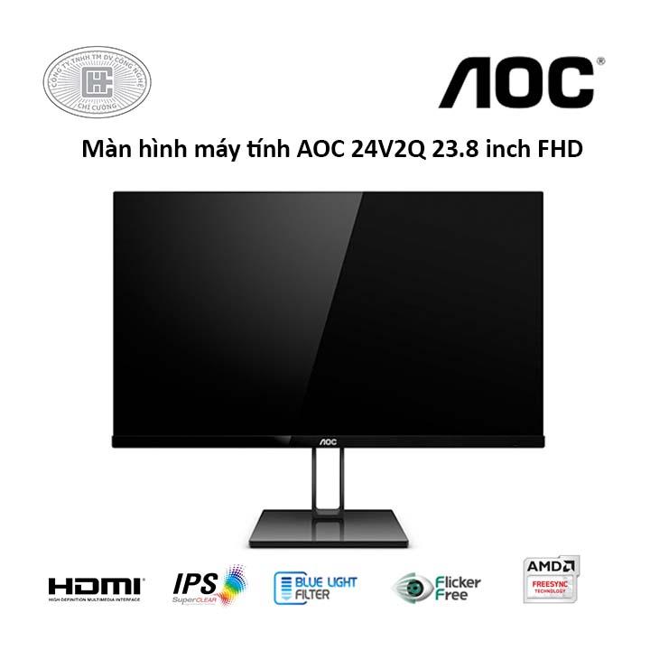 Màn hình máy tính AOC 24V2Q 23.8 inch FHD 75Hz