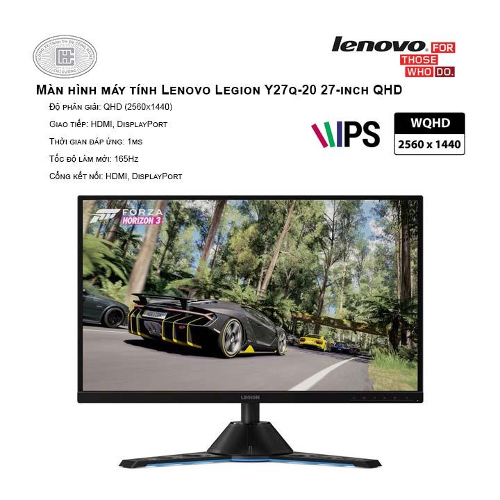 Màn hình máy tính Lenovo Legion Y27q-20 27-inch QHD (65EEGAC1VN)