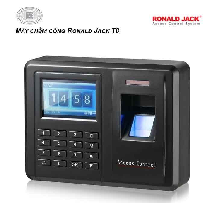 Máy chấm công Ronald Jack T8