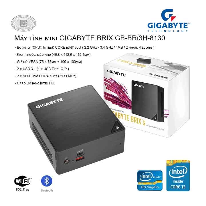 Máy tính mini GIGABYTE BRIX GB-BRi3H-8130