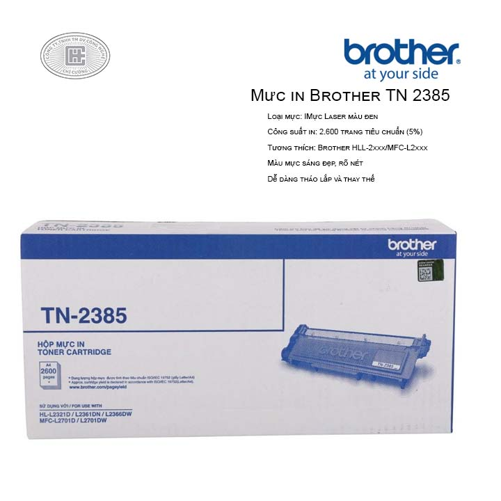 Mực in brother TN 2385