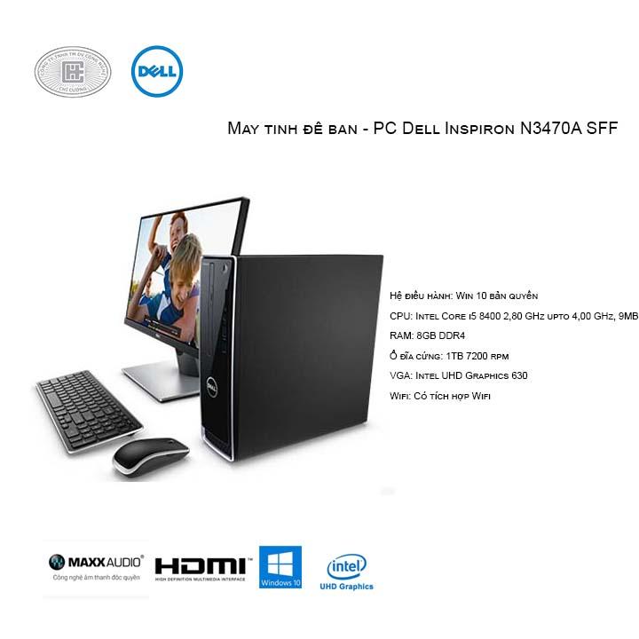Máy tính để bàn - PC Dell Inspiron N3470A SFF