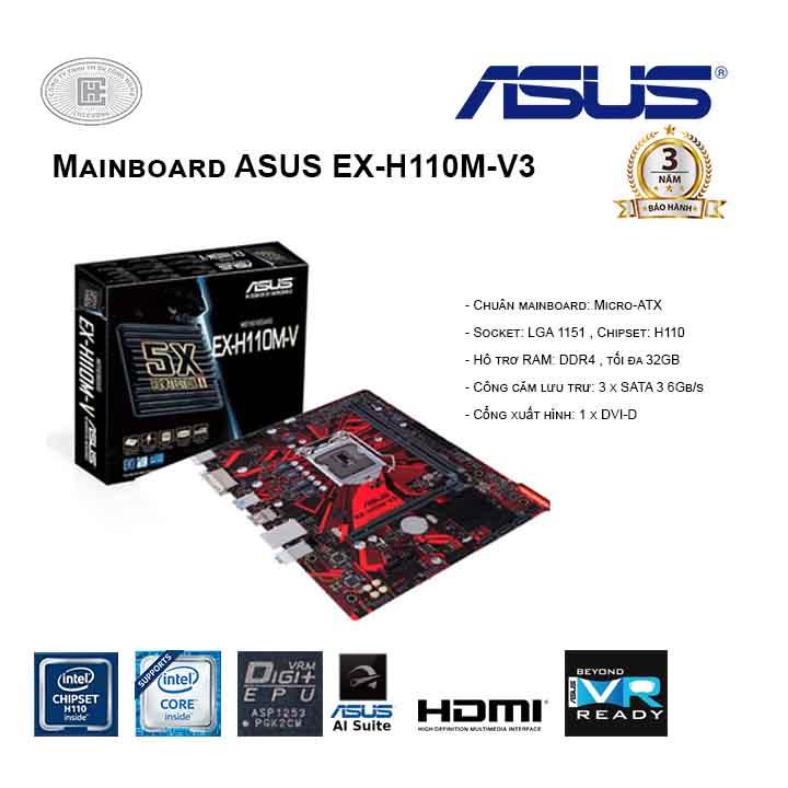 Mainboard ASUS EX-H110M-V3