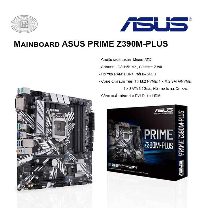 Mainboard ASUS Prime Z390M-PLUS