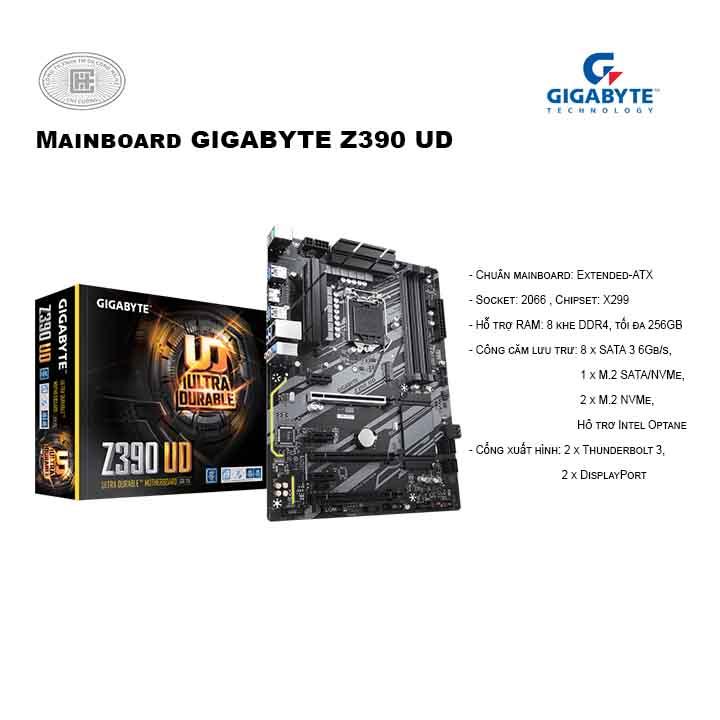 Main Gigabyte Z390 UD Socket 1151 v2