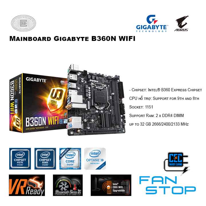 Mainboard Gigabyte B360N WIFI