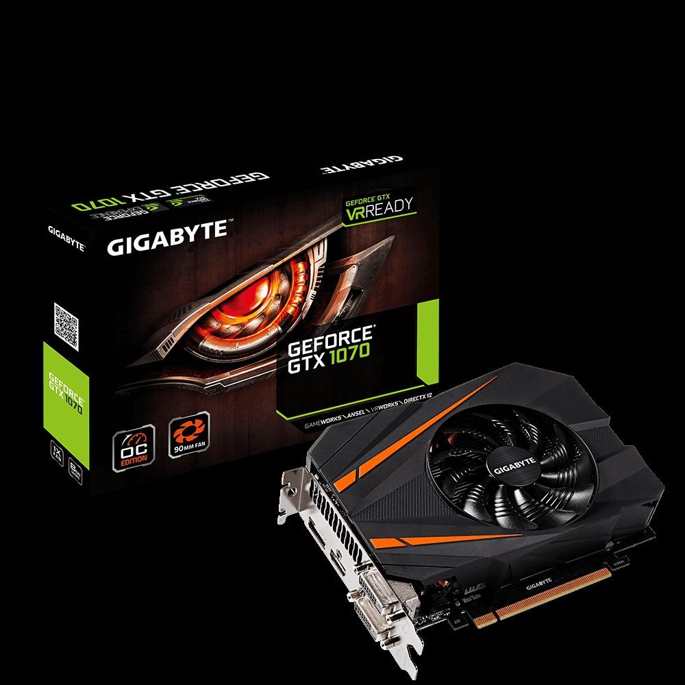 VGA GIGABYTE GTX 1070 Mini ITX OC 8G N1070IXOC-8GB