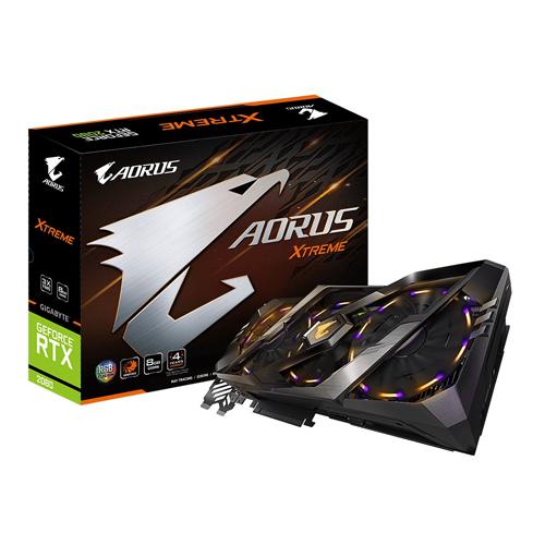 Card màn hình / VGA GIGABYTE GeForce RTX 2080 8GB GDDR6 AORUS Xtreme (GV-N2080AORUS X-8GC) Tăng Thanh đỡ VGA AORUS