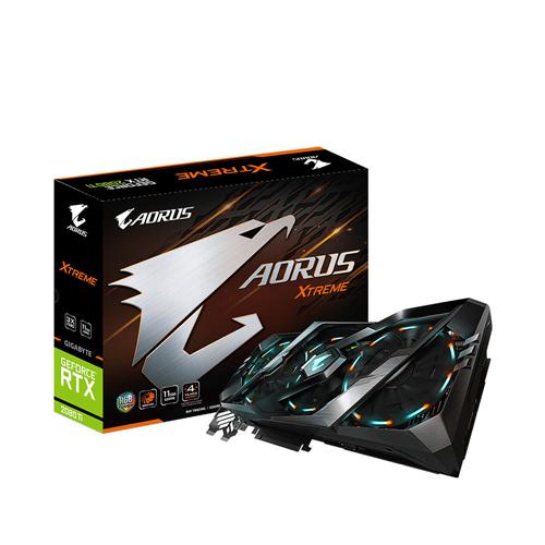 Card màn hình / VGA GIGABYTE GeForce RTX 2080Ti 11GB GDDR6 AORUS Xtreme (GV-N208TAORUS X-11GC)