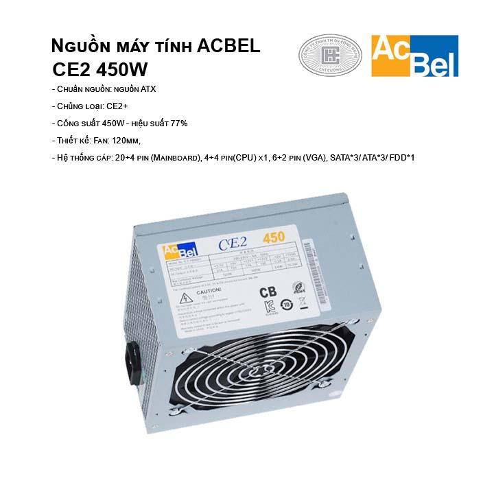 Nguồn máy tính AcBel CE2 450W