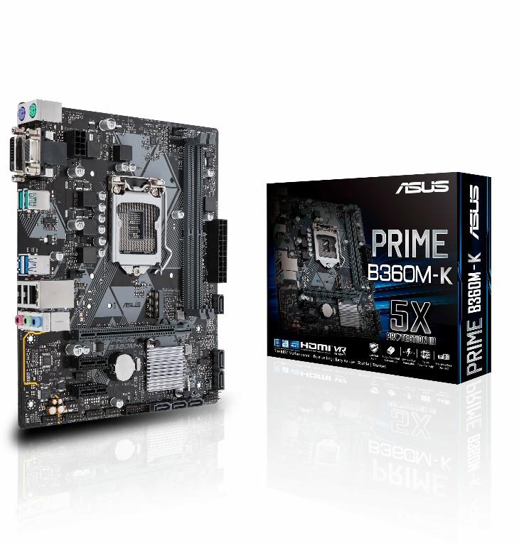 Main Asus PRIME B360M-K Socket 1151 v2