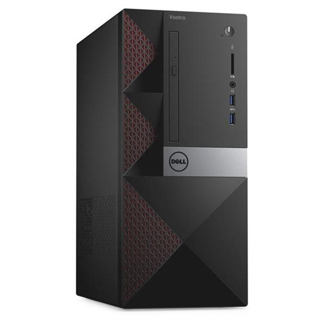 Máy bộ Dell VOS3668MT - PWVK43 - i5-7400(4*3.0)/4GD4/1T7/DVDRW/5in1/Wln/BT4/KB/M/ĐEN/W10SL/ProSup3