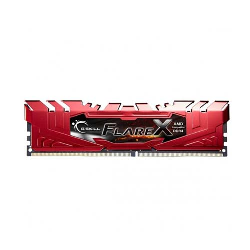 RAM PC GSKILL DDR4 8GG Bus 2400 FLARE X - F4-2400C16S-8GFXR (RED)
