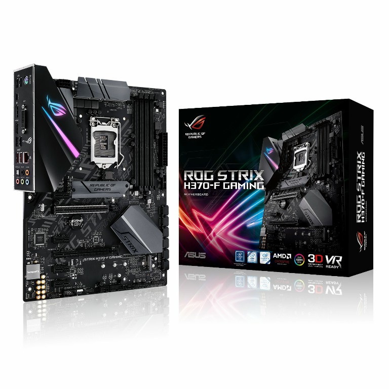 Main Asus ROG STRIX H370-F GAMING Socket 1151 v2
