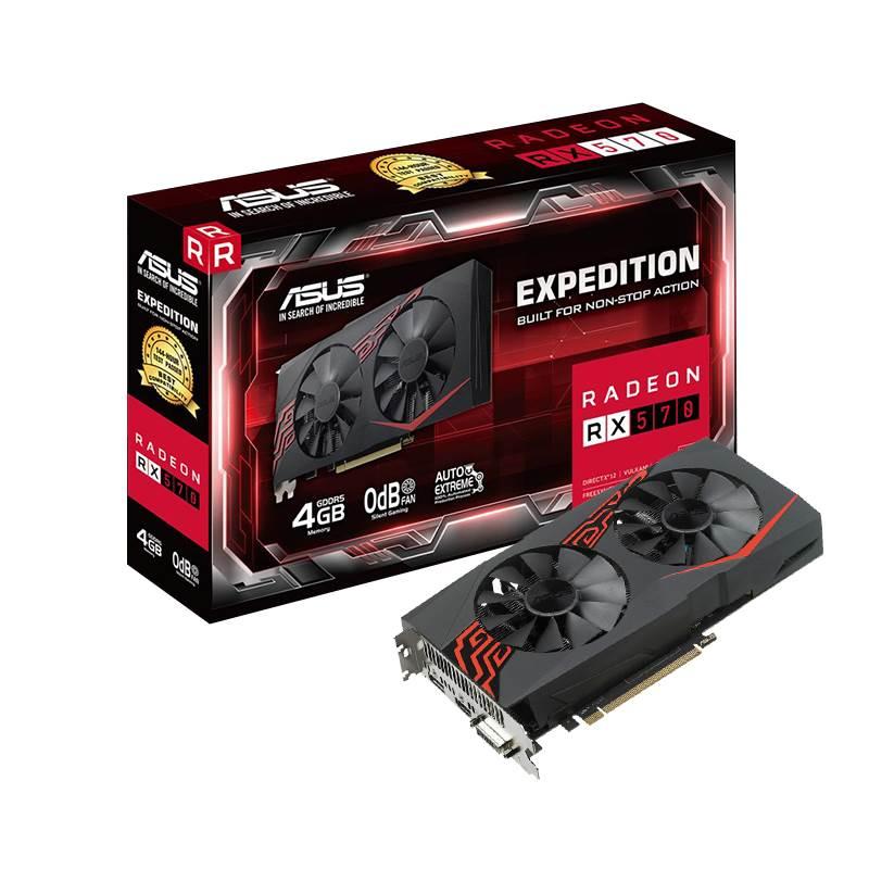VGA ASUS EX RX570 4G