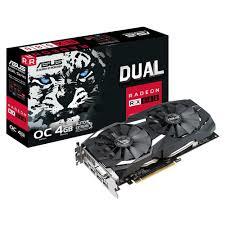 VGA ASUS DUAL RX580 4G AMD Radeon