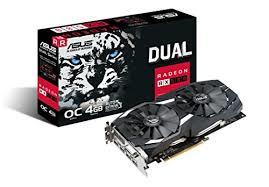 VGA ASUS DUAL RX580 O4G 4GB AMD Radeon