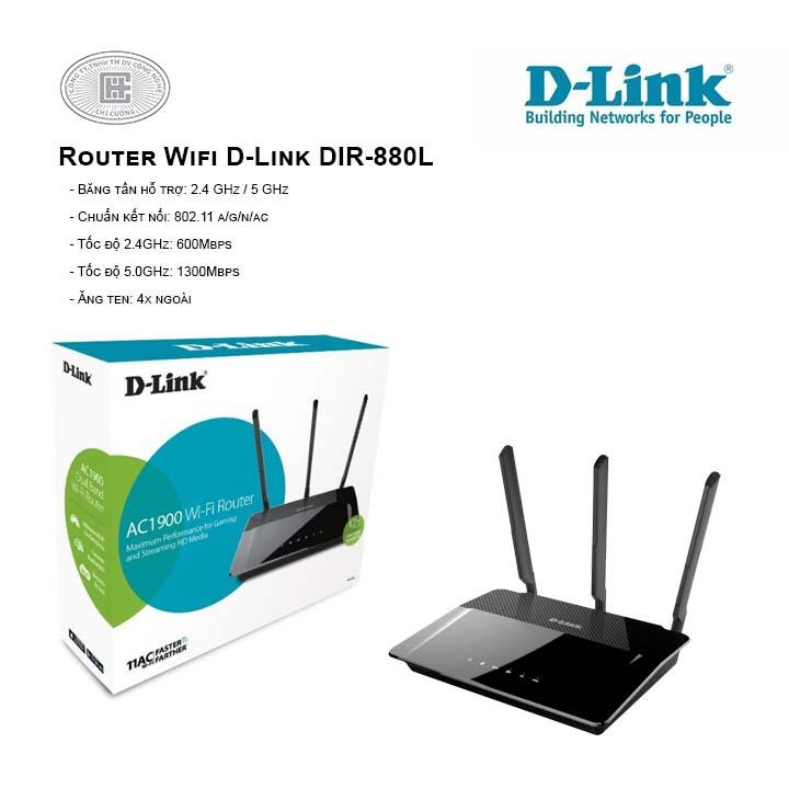 Router Wifi D-Link DIR-880L