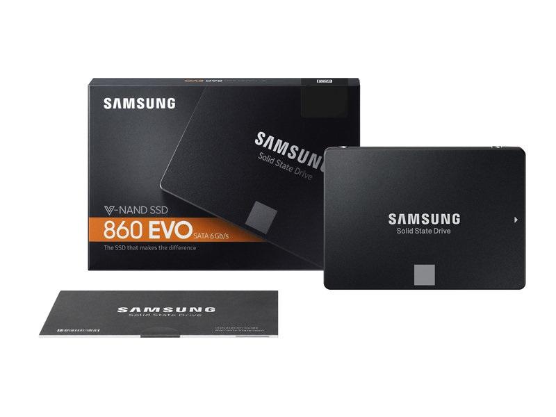 SSD Samsung 860EVO - 500GB  MZ-76E500BW