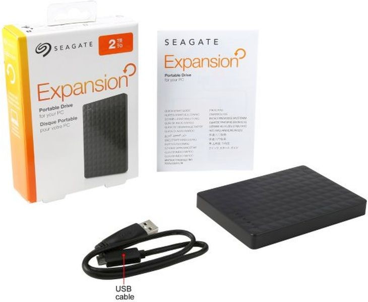 Ổ cứng di động Seagate® Expansion Portable Drive 2TB 3.0