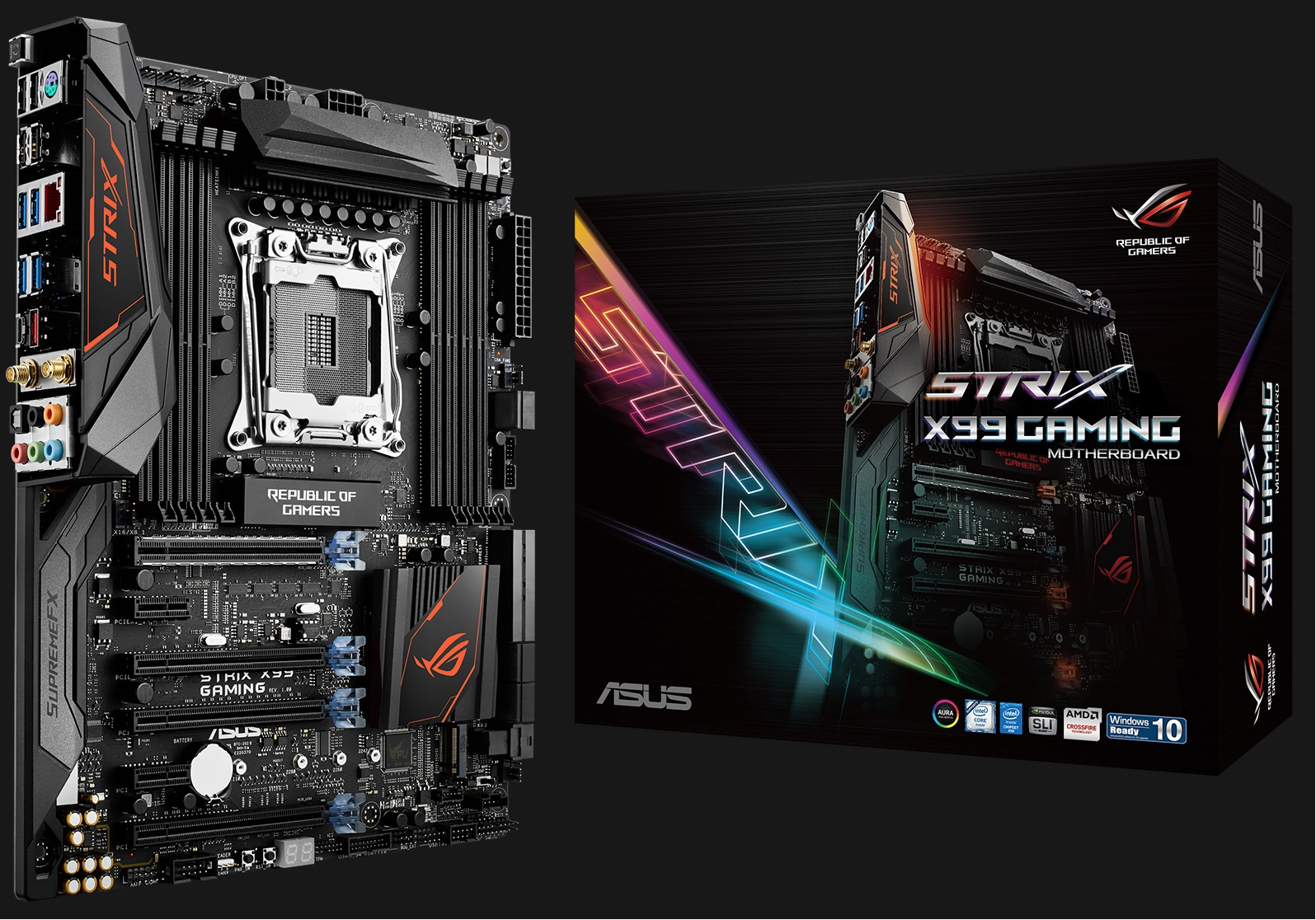 Mainboard ASUS STRIX X99 Gaming - LGA 2011