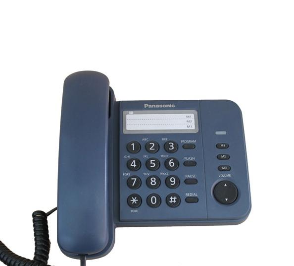 ĐIỆN THOẠI BÀN PANASONIC KX-TS 520 XANH