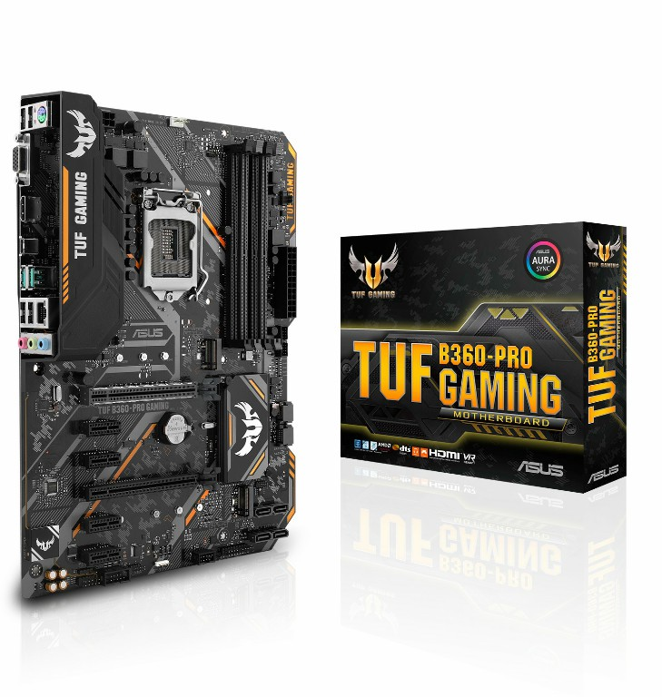 Main Asus TUF B360-PRO GAMING Socket 1151 v2