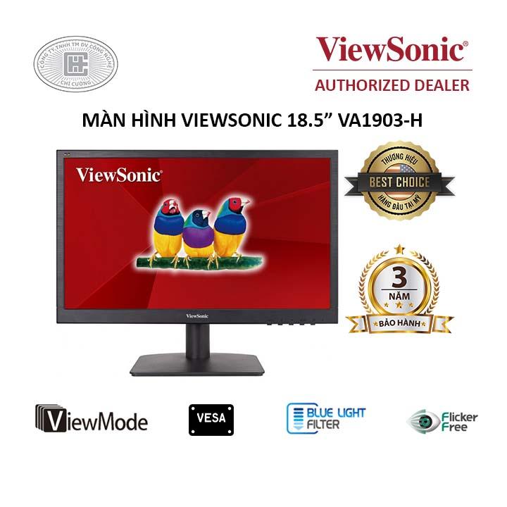 Màn hình máy tính Viewsonic VA1903h 18.5 inch Wide