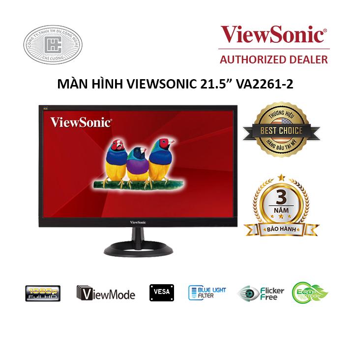 Màn hình máy tính ViewSonic VA2261-2 - Full HD 21.5 inch