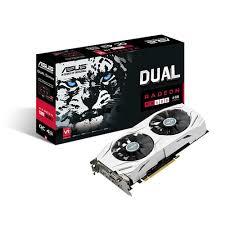 VGA ASUS  DUAL RX480 O4G  4GB AMD