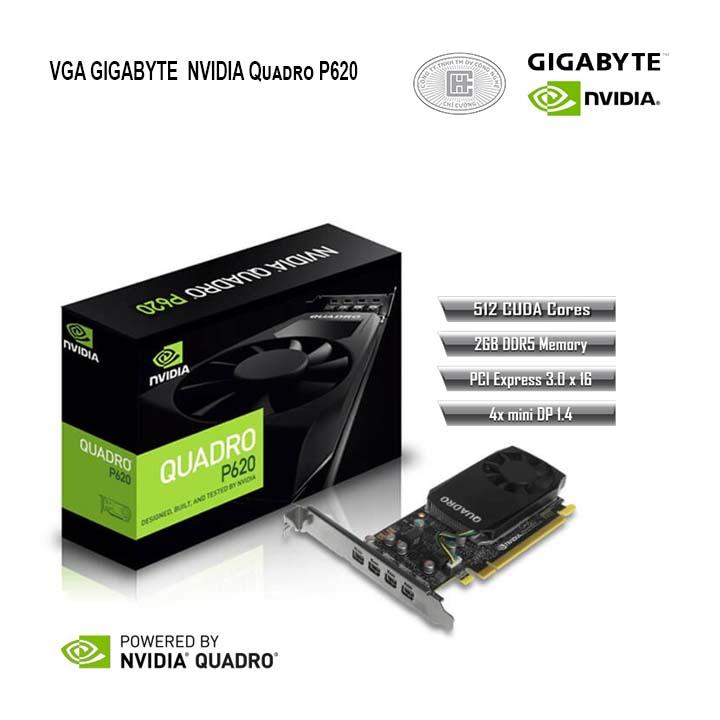 VGA GigaByte QUADRO P620