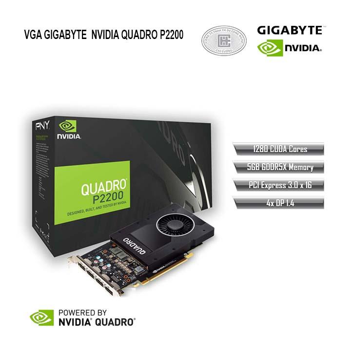 VGA Gigabyte QUADRO P2200