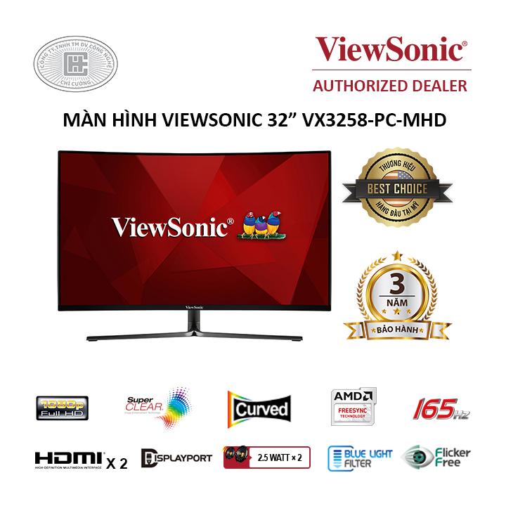 Màn hình cong Viewsonic 32
