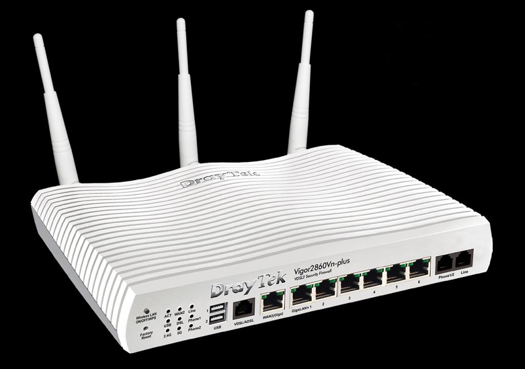 Router Draytek Vigor 2860n - DSL/ADSL2+ Wireless N