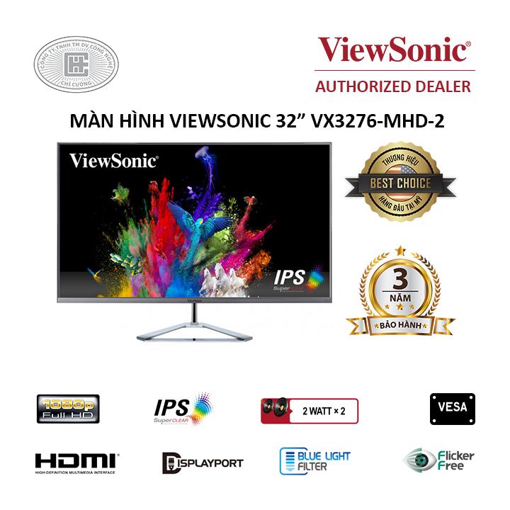 Màn hình Viewsonic 32 inch FHD VX3276 - Full HD