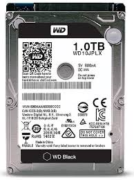 HDD Laptop WD 2.5'' 1TB Black - WD10JPLX