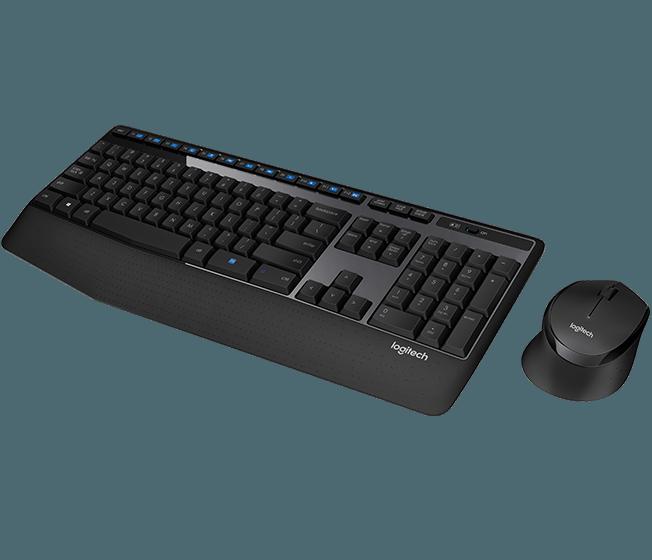 BỘ BÀN PHÍM + CHUỘT LOGITECH Wireless Combo MK345