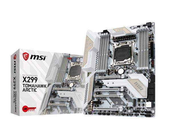 MAIN MSI X299 TOMAHAWK ARCTIC - LGA2066